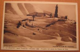 La Salette Après L'avalanche Décembre 1940 Ce Qu'on Voit Encore Du Chemin De Croix - La Salette