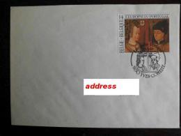 Belgi� Belgium - FDC real sent joint issue Belgium - Portugal Europalia 1991 (painting from Louvre - Paris)
