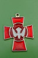 Pendentif Médaille Religieuse Croix Saint Esprit - Religious Medal - Religion & Esotérisme
