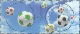 HR 2008-859 EU CHAMPIONSHIP IN FOOTBALL AUSTRIA-SCHWITZERLAND, CROATIA HRVATSKA, 1 X 1v + Label, MNH - Eurocopa (UEFA)