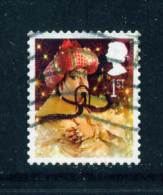 GREAT BRITAIN  -  2008  Christmas  1st  Used As Scan - 1952-.... (Elizabeth II)