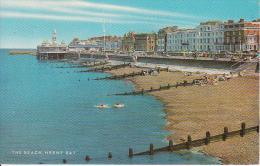PC Herne Bay - The Beach - 1972  (7016) - England