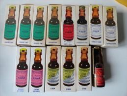LOT DE 14 FLACONS EXTRAITS T. NOIROT ( DOSE POUR 1L DE LIQUEUR) - Alcoolici