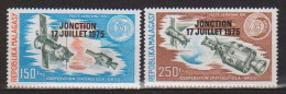 Madagascar  PA N°  153 Et 154   Neufs  ** ( Coopération Spatiale) - Madagascar (1960-...)