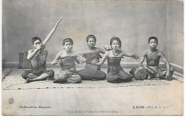 LAOS - Chanteuses Laotiennes Et Leur Orchestre - Laos