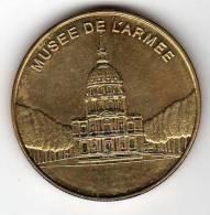 Musée De L´Armée : Médaille Des Musées Et Châteaux De France - Tourist