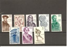 España/Spain-(MNH/**) - Edifil  1750-57  - Yvert  1405-12 - 1931-Hoy: 2ª República - ... Juan Carlos I
