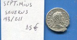 Septimius  Severus  193/211 - 4. Les Sévères (193 à 235)