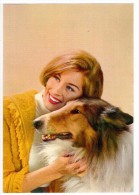 ZA387  Donna E Cane,  Femme Et Le Chien, Woman And Dog,  Frau Und Hund - Donne