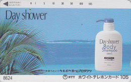 Télécarte Japon 7/11 - 8624 - 105 U - Parfum Gel Douche ** ONE PUNCH ** - Perfume Cosmetics Japan Phonecard - Parfum