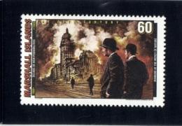 Marshall Islands 1997 Mi. 813 MNH, Developments 1900-09, Earthquake and Fire Devastate San Francisco (1906)