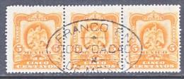 MEXICO  307 X 3   (o)    FORWARDING  AGENT  OCOYOACAC  CD. - Mexico