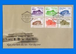 VN 2014-0010,  Vietnam Architecture (2nd Issue) FDC - Vietnam