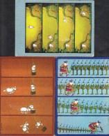 ILLUSTRATEUR MORDILLO SET OF 3 POSTCARDS TARZAN GALLOWS TROOPS ( 2 SCANS ) - Illustratori & Fotografie