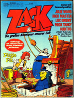 Comics Zack  ,  Nr. 18 Vom 24.8. 1978  ,  Koralle Verlag - Books, Magazines, Comics