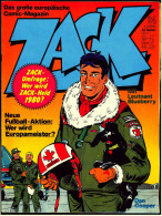 Comics Zack  ,  Nr. 24 Vom 6.6. 1980  ,  Koralle Verlag - Books, Magazines, Comics