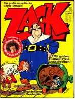 Comics Zack  ,  Nr. 12 Vom 13.3. 1980  ,  Koralle Verlag - Books, Magazines, Comics