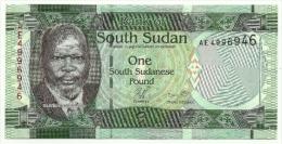 Sudan Sud - 1 Pound - Banconote