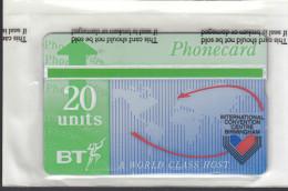 UK, BT 1991 20 UNIT CARD FOR BIRMINGHAM CONVENTION IN ORIGINAL PACKET - Regno Unito