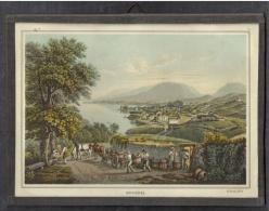 NEUCHÂTEL - Petit Cadre/tableau Sous Verre - G. Lory Fils - Other Collections