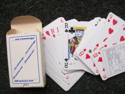 Mazzo Di Carte Da Gioco AIR FRANCE - Jeux De Cartes