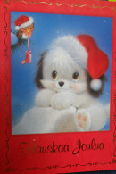 Hauskaa Joulua Chien Puppy Christmas - Unclassified