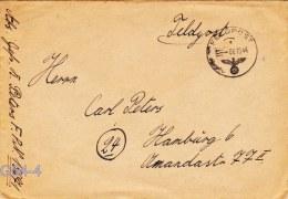 Feldpost WW2: From Norway To Vogesen In Elsass: 4. Schwadron Aufklärungs-Abteilung 269 FP 15671 Posted 6.10.1944 - Cover - Militaria
