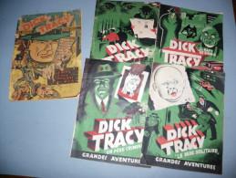 DICK TRACY AUX EDITIONS PAUL DUPONT 3° TRIMESTRE 1946 RELIURE - Livres, BD, Revues
