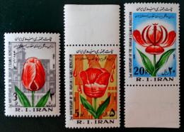 2 EME ANNIVERSAIRE DE LA REVOLUTION ISLAMIQUE 1981 - NEUFS ** - YT 1803/05 - MI 1990/92 - Iran