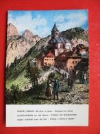 MONTE LUSSARI,SV.VISARJE PRED 100 Leti-Voznja V Dolino S Sanmi,Kunstmallers PIRKER - Udine