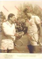Photo Presse Sports - Tennis -  Match Et Joueurs à Identifier , Roland Garros Débuts Années 60 - Sports