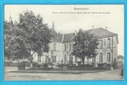 C.P.A. REMIREMONT - Palais Abbatial - Remiremont