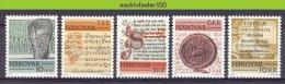 Mrc011 HISTORISCHE GESCHRIFTEN TALEN LANGUAGES HISTORICAL TEXTS FOROYAR 1981 PF/MNH - Talen