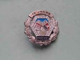10 JAHRE RADSTADT ( Treue Zu Unserer Stadt ) / ( Suisse / Schweiz - For Grade, Please See Photo ) !! - Tokens & Medals