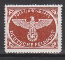 Allemagne N° FM 2 *** - Feldpost  - Type Colis-Postaux - 1942 - Allemagne