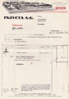 RN AG REINACH 1939-5-5 Gautschi, Hauri & Cie Cigarren & Tabak Fabriken - Suisse