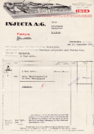 RN AG REINACH 1939-5-5 Gautschi, Hauri & Cie Cigarren & Tabak Fabriken - Switzerland