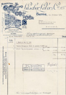 RN BE BERN 1941-2-10 Lüscher-Leber & Cie Manufacture De Cuirs - Suisse