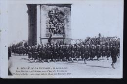 PARIS DEFILE 1919 MARINS AMERICAINS - War 1914-18