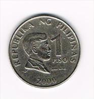 ¨  PILIPINAS  1  PISO  2000 - Philippines
