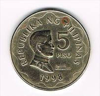 ¨  PILIPINAS  5  PISO  1998 - Philippines
