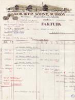 RN ZH BUBIKON Rob. Hotz Söhne Mechanische Papier-Hülsenfabrik - Suisse