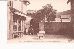 07 La Louvesc Lalouvesc Place Fontaine Vierge - La Louvesc