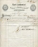 ZIERBRIEFBOGEN 1868 Lidowici Ludwigshafen (42199) - Documentos Históricos