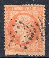 1862, Napoléon III. Y&T 23, Oblitéré, Lot 41863 - 1862 Napoleone III