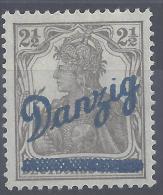 ALLEMAGNE -  DANTZIG -  1920 -   N°  22  - X - TB - - Danzig