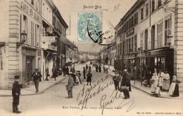 SAINT-DIE --Rue Thiers Prise Du Grand Pont - Saint Die
