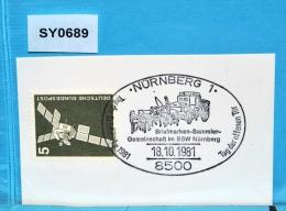 SY0689 Tag Der Briefmarke 1981, Postkutsche, 8500 Nürnberg DE 18.10.1981 - [7] Federal Republic