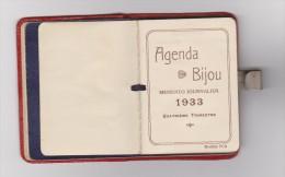 AGENDA BIJOU De POCHE 1933 - MEMENTO JOURNALIER 4 ème TRIMESTRE - VOIR DESCRIPTIF - 3 Scans - - Calendriers