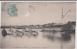 Bateau  : Port  Militaire  De  Brest  ,  Torpilleurs   Et Le  Navarin - Guerra